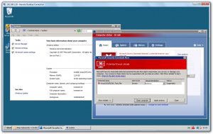 Microsoft Security Essentials on Windows Server 2008